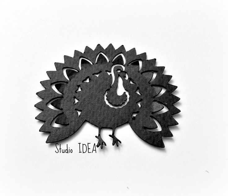 """Set of 3""""  Black Turkey Cut outs, Thanksgiving cut outs-or Choose Your Colors…"""