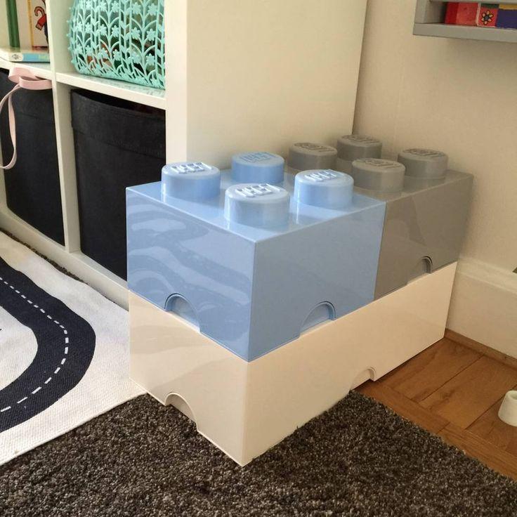 Kan användas som både nattduksbord, förvaring och dekoration i barnrummet!