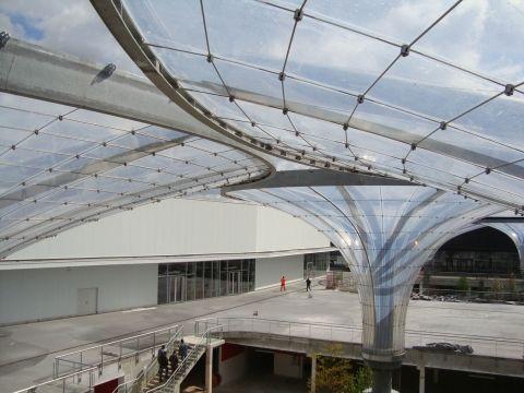 Outstanding Achievement Award Tensile structures more than 2,300 sq.m Comercial Centre Vergers De La Plaine Taiyo Europe GmbH
