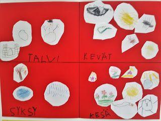 ESKARIELÄMÄÄ : Eskarit tutustuvat vuodenaikoihin