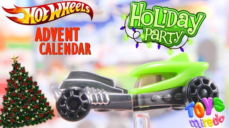 Green Hot Wheels car from Kinder advent calendar @ToysMiredo on #youtube  #surpriseeggs #youtubekids #kindereggs