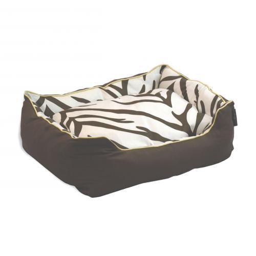 http://www.sniffery.com/shop/zebra-style-couch-pet-bed Zebra Style Couch Pet Bed -  Inspired by nature, the popular zebra pattern is found in many home decor settings. EZ Living Home interprets this timeless classic on a large scale that makes a room spacious. Our up-to-date fresh color assortments make it ez on the eyes.