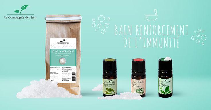 Renforcer vos défenses immunitaires avec un bain aux huiles essentielles