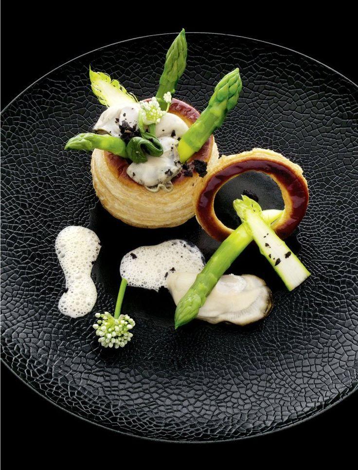 Eric Briffard L'art de dresser et présenter une assiette comme un chef de la gastronomie #plating #presentation T.Tavakoli.V