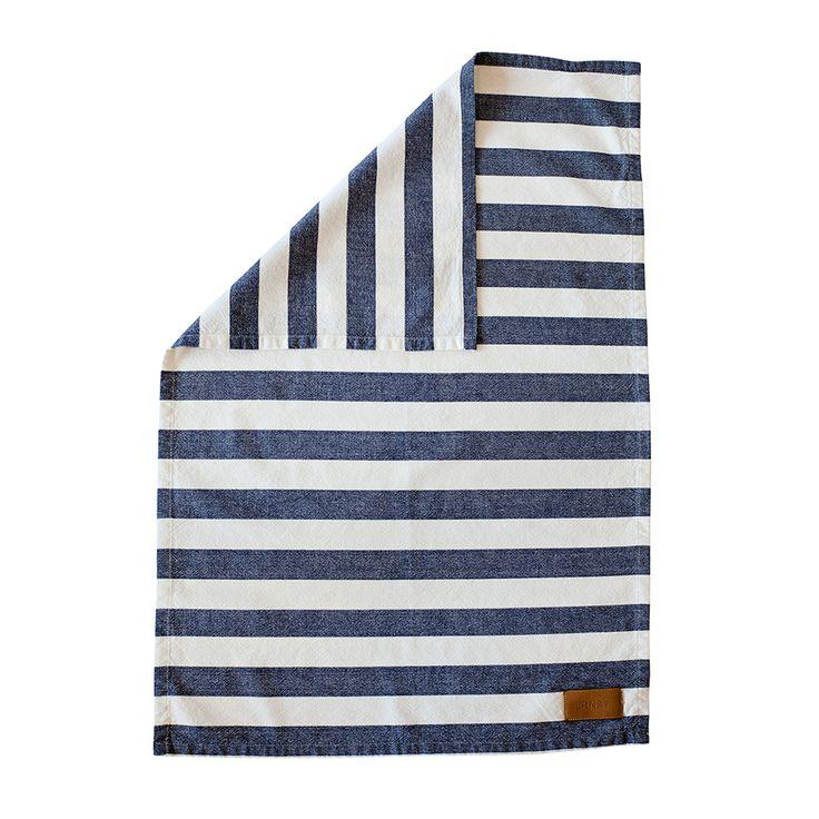 Kitchen Towel, Stripes, Blue, Ernst Kirchsteiger
