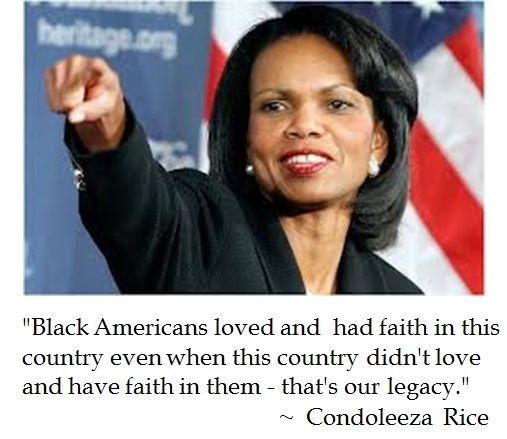 Condoleeza Rice on Civics for Black History Month