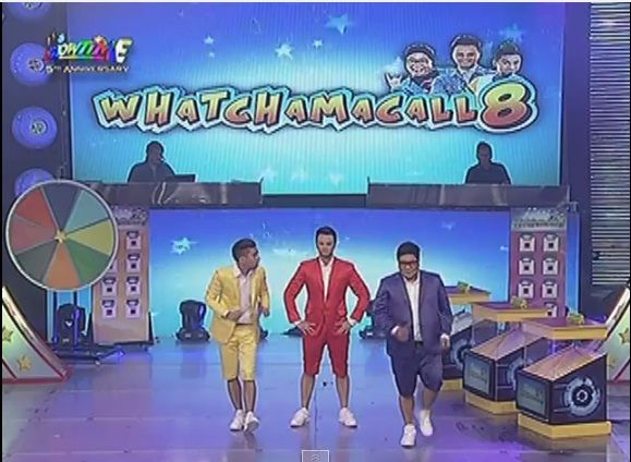 """The """"Watchamacall8"""" performance of rock duo Jugs and Teddy with Billy Crawford was declared as this year's Magpasikat champion in ABS-CBN noontime show It's Showtime. In the culmination of their an..."""