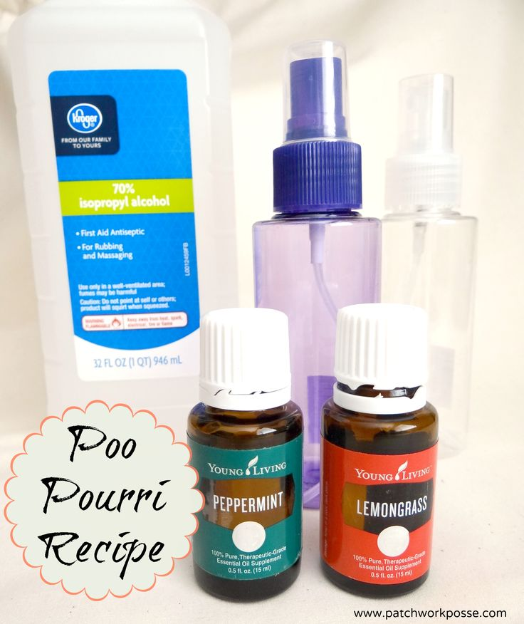 Poo Pourri Recipe - so great for sewing retreats and having on hand in the guest bathroom. Love this!