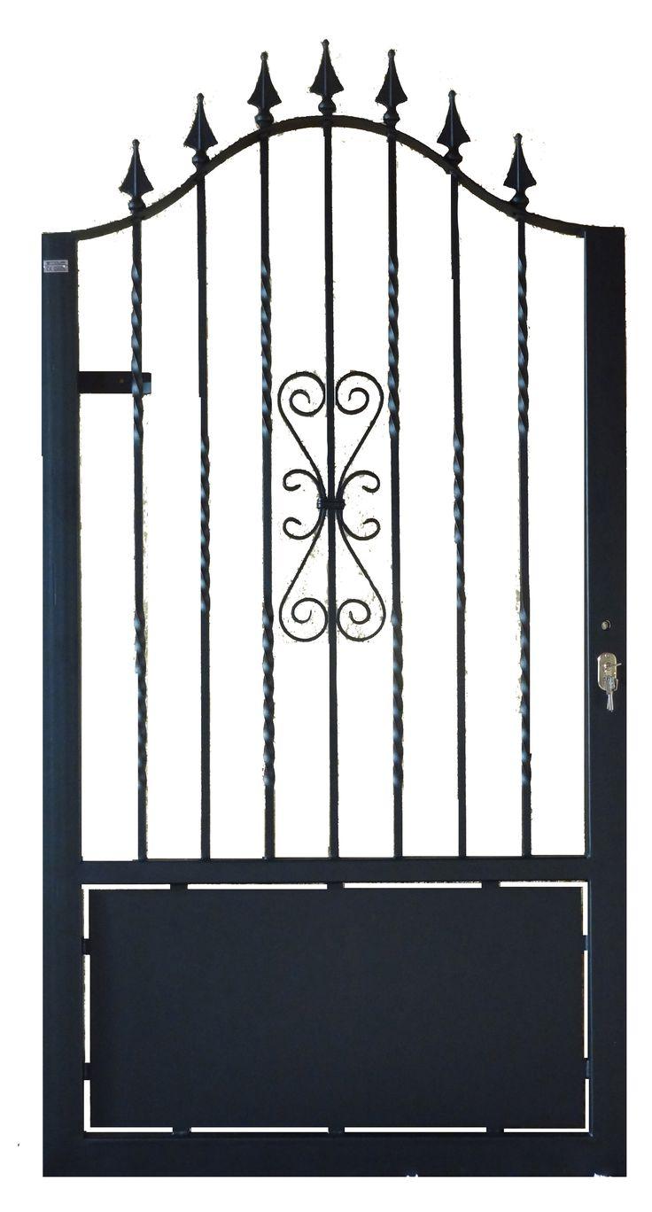 M s de 25 ideas incre bles sobre puertas de jard n de - Puertas metalicas jardin ...