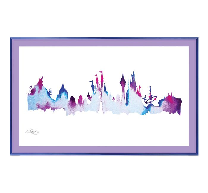 Always remember your favorite place by framing a special