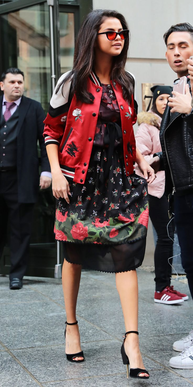 Selena Gomez's Standout Street Style Moments - February 8, 2017 from InStyle.com
