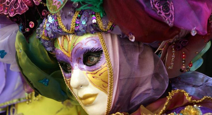 Carnaval vénitien de Gréoux-les-Bains, par Marie-Jo Doucet