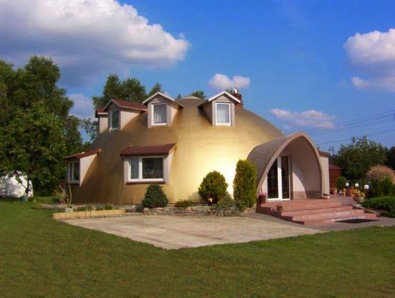 concrete monolithic dome homes