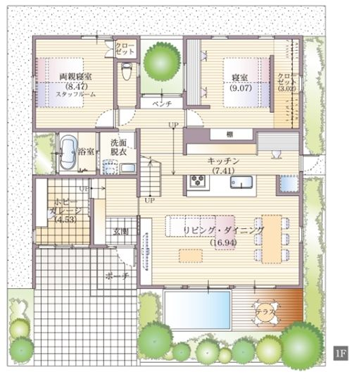 展示場/モデルハウス ウンノハウス 自由設計・注文住宅のハウスメーカー 山形・米沢・宮城・仙台・福島 