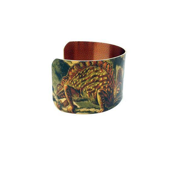 Lizard Art Jewellery - Ernst Haeckel - Brass Cuff Bracelet - Statement Cuff Bracelet - Art Cuff Bracelet - Sku R10-DS009  with <3 from JDzigner www.jdzigner.com
