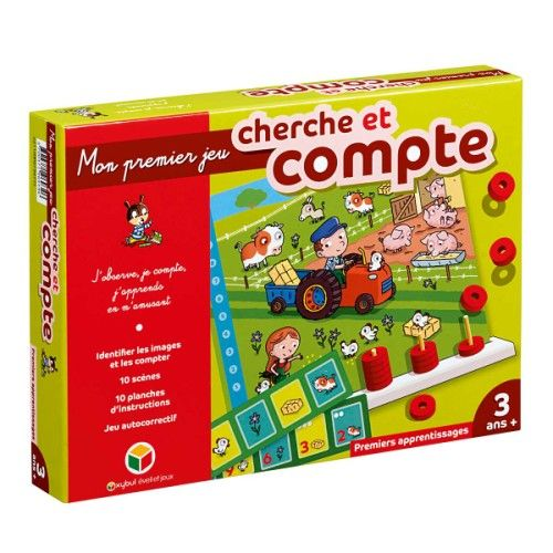 jeu cherche et compte oxybul pour enfant de 3 ans 6 ans oxybul veil et jeux id es cadeaux