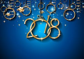 picture of menu card 2018 happy new year background for your seasonal flyers and greetings card or christmas themed invitations jpg