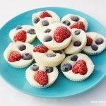 Easy Recipes for Kids – Frozen Fruity Yoghurt Bites