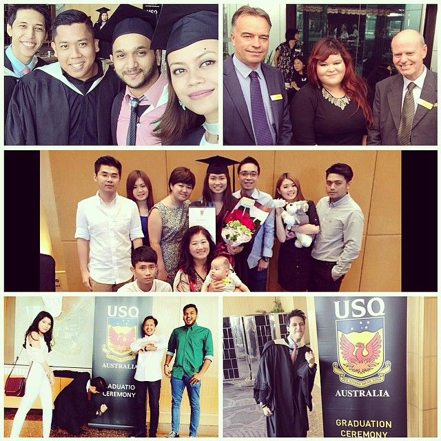 A big CONGRATS to all of our Kuala Lumpur USQ graduates. We couldn't be prouder of all your hard work and persistence. Make sure to keep in touch now that you are a USQ alumni! #usqgrad #youdidit #usqpride