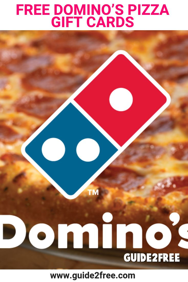 Free dominos pizza gift cards food drink pizza gifts