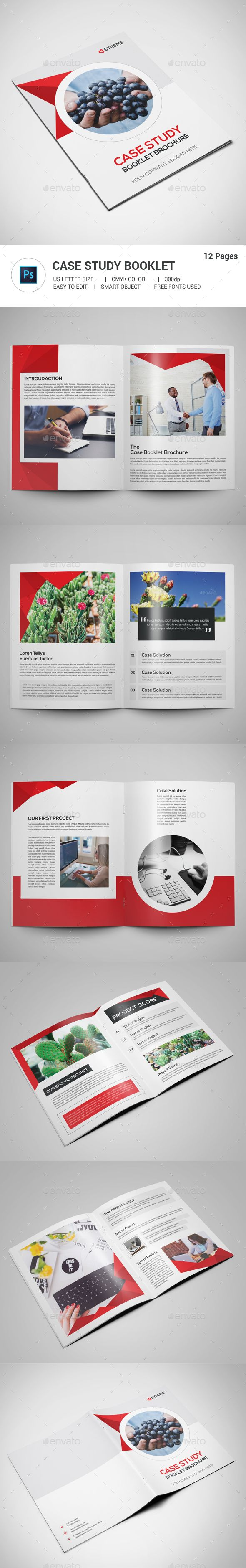 Best Case Study Templates Images On Pinterest Page Layout - Brochure booklet templates