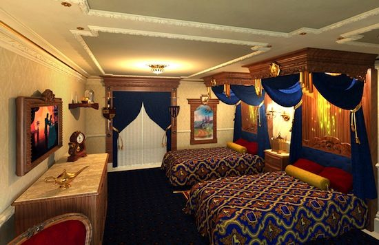 themed hotel rooms be our guest and the beast room s magic 29571