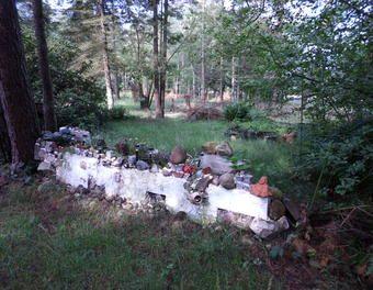 Versuch einer kreativen Gartenmauer Gartenmauer