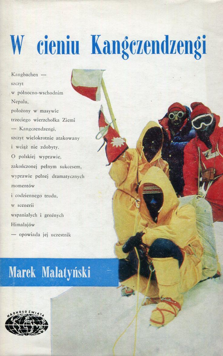 """""""W cieniu Kangczendzengi"""" Marek Malatyński Cover by Janusz Grabiański (Grabianski) Book series Naokoło Świata Published by Wydawnictwo Iskry 1978"""