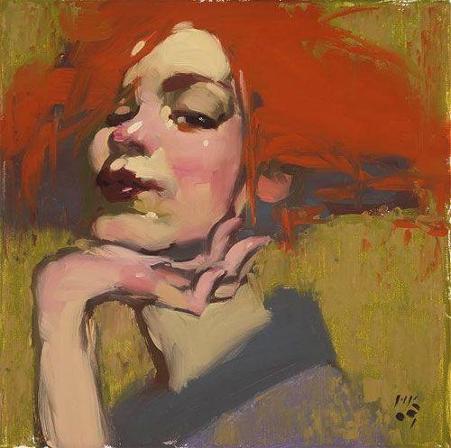 painting Milt Kobayashi