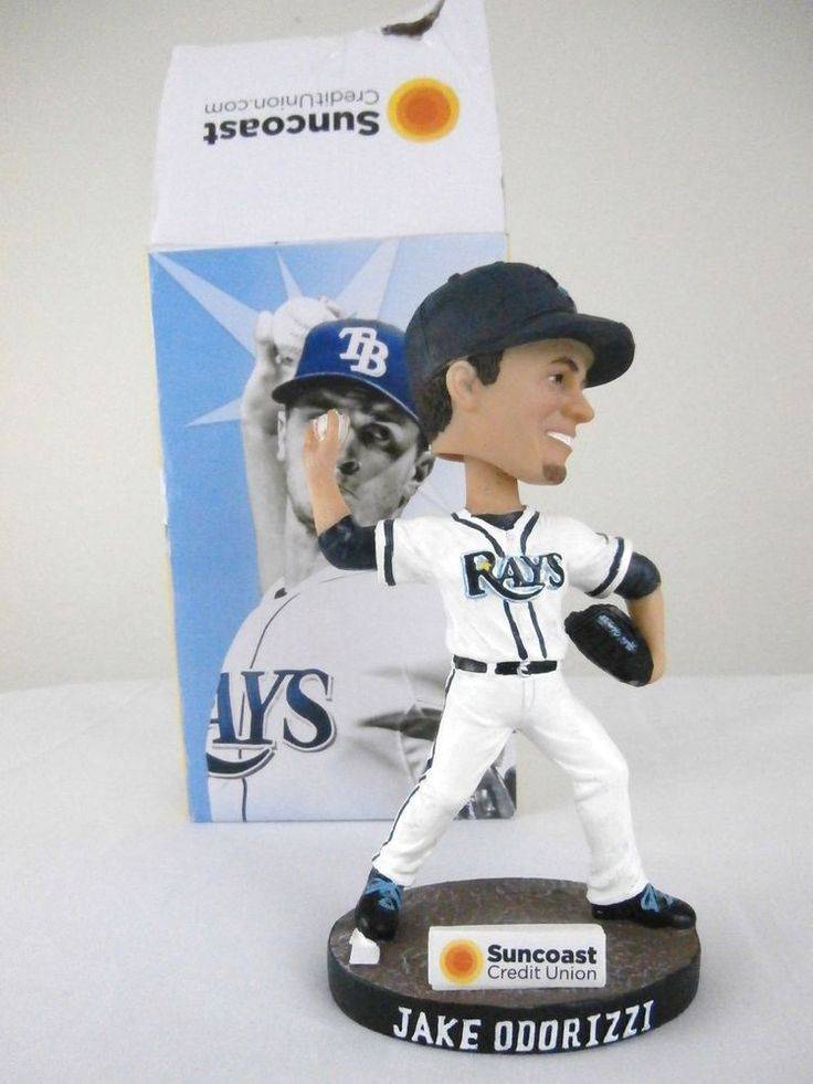 MLB Tampa Bay Rays Jake Odorizzi Bobblehead Bobble Head Suncoast Credit Union #TampaBayRays