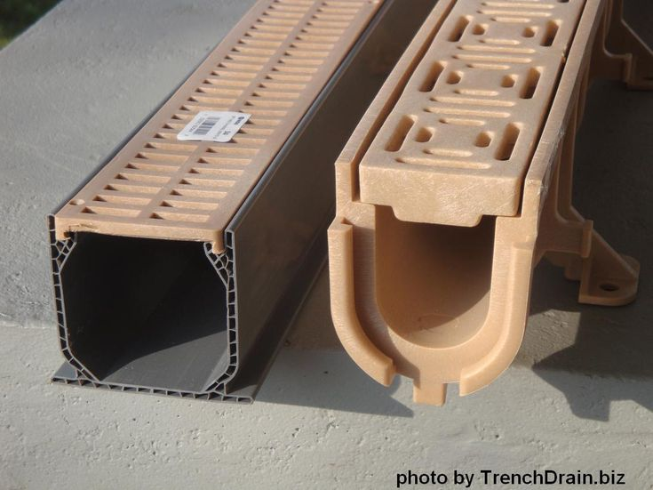 98 Best Images About Decorative And Useful Trench Drain On