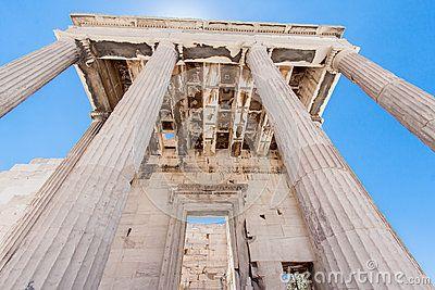 Erechteion Temple Acropolis Athens Greece by Alexandre Fagundes De Fagundes, via Dreamstime