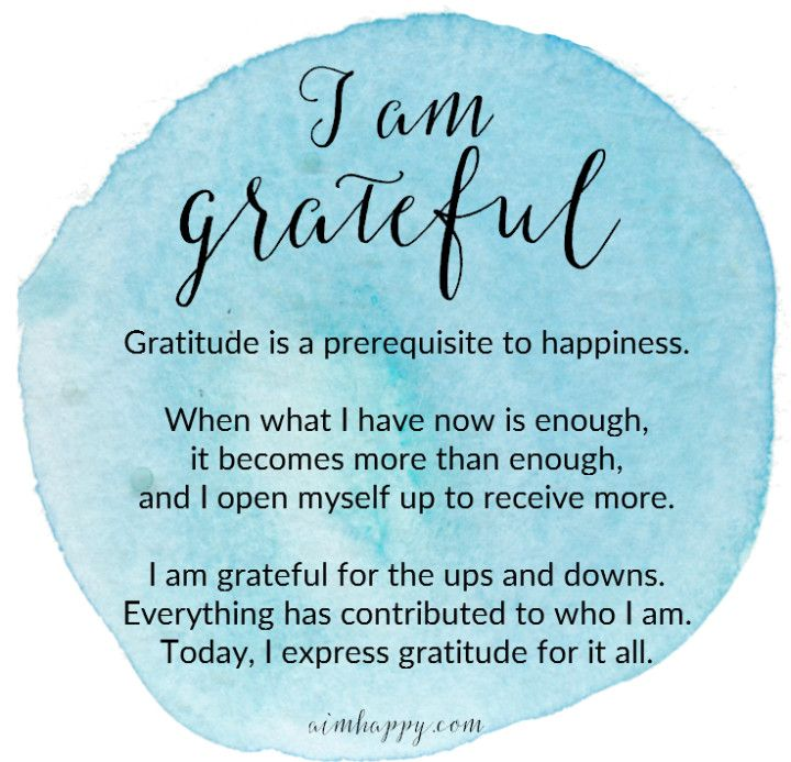 A Daily Affirmation for Peace Within: I Am Grateful – Heather Yellow-Peters