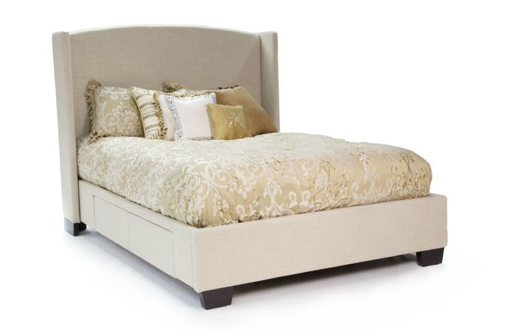 California king bed headboard storage woodworking projects plans - Cal king bed with drawers ...