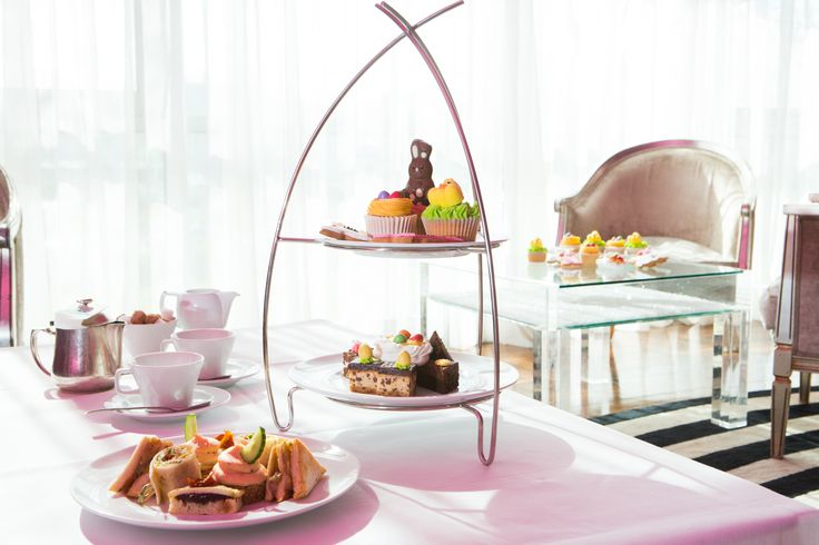Easter Themed Afternoon Tea at the g - Galway City's only five star Hotel & Spa. www.theghotel.ie