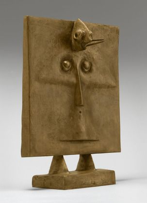Max Ernst (French, born Germany. 1891-1976), Bird-Head (1934-1935), MOMA New York