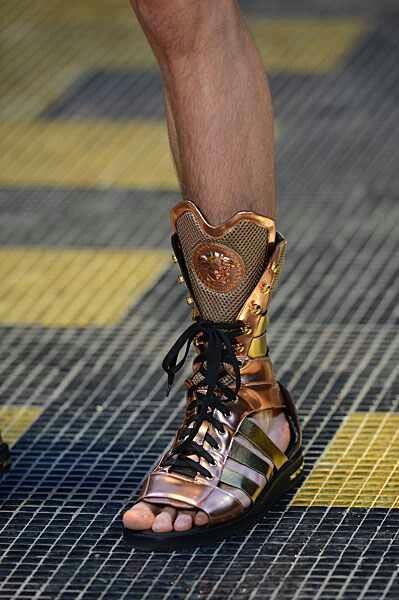 Versace men's sandals for 2013 summer line