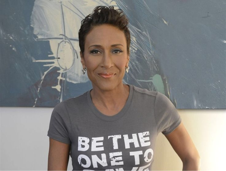 Robin Roberts such a stromg woman and inspiration for everyone!!!