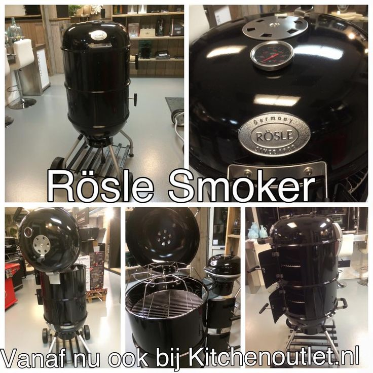 Rösle outdoor | Smoker | Houtskool BBQ | Barbecue |