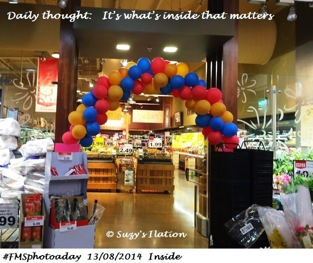 #FMSphotoaday  It's what's inside that matters.   https://www.facebook.com/SuzysIlation