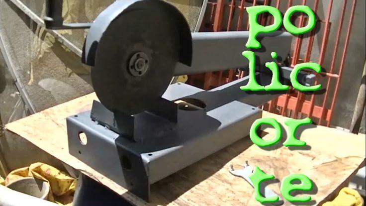 Suporte para esmerilhadeira - policorte | Metal Cutting Station - DIY
