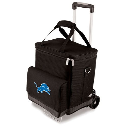 NFL Collectibles - Cellar with Trolley (Detroit Lions) Digital Print - Black