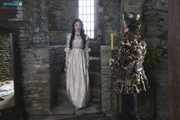 "#Galavant 1x01 ""Pilot"" - Mallory Jansen as (Madalena) and Omundson as (King Richard)"
