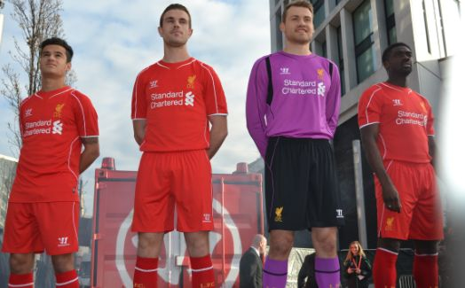 LFC reveal new 2014/15 home kit