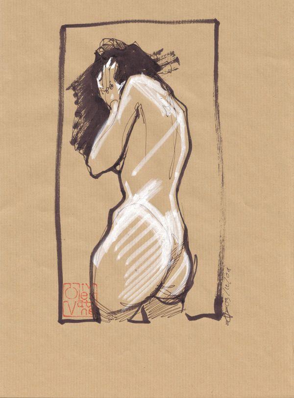 Nu n°13 - Original d'Olivier Vatine - COMIX-BURO