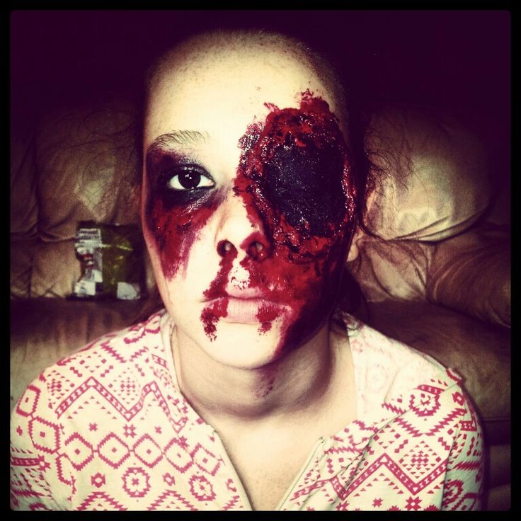 Halloween Makeup by me.