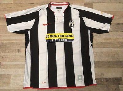 NIKE Juventus FC Bianconeri New Holland Soccer Jersey Men's Size XL | eBay