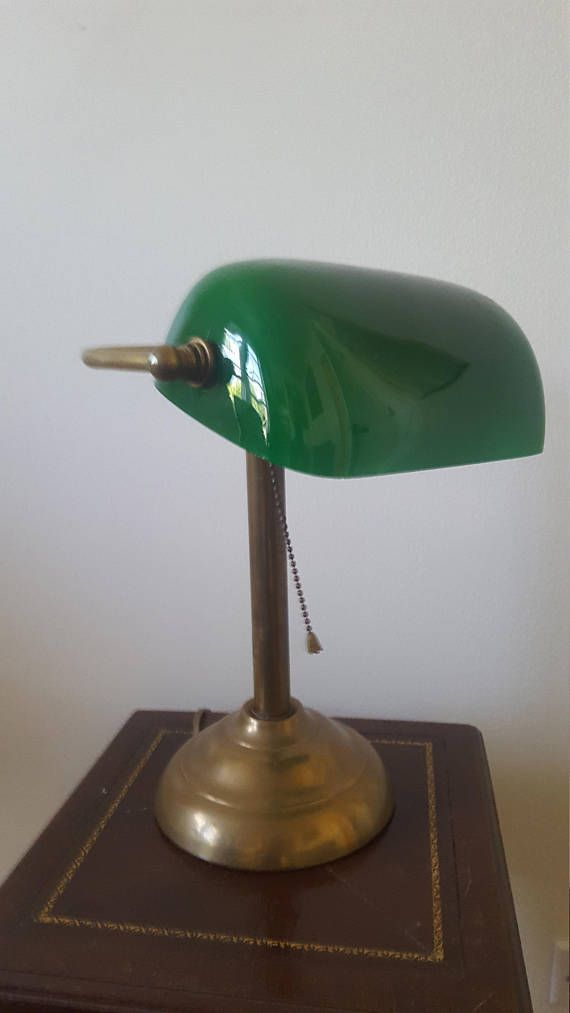 Classic Green Desk Lamp Green Lamp Green Lamp Shade Lamp
