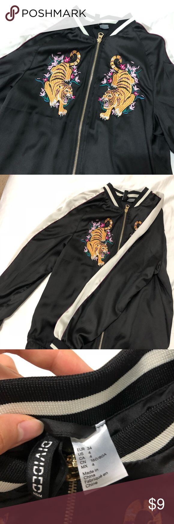 H&m twin tiger bomber jacket Bomber jacket, Jackets