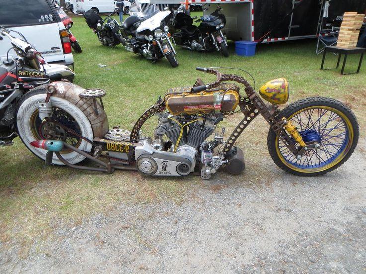 Custom Rat Bike Motorcycles Wallpaper